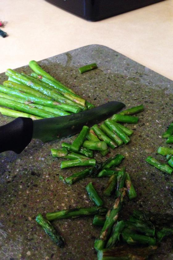 chopasparagus